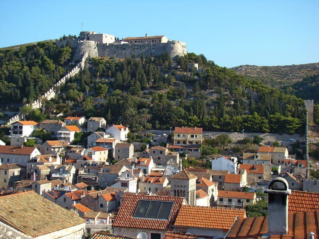 Die Festung Fortica in Hvar