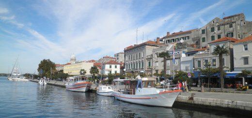 Šibenik Hafen