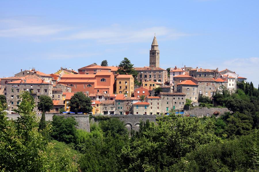Istriens Altstadt Labin