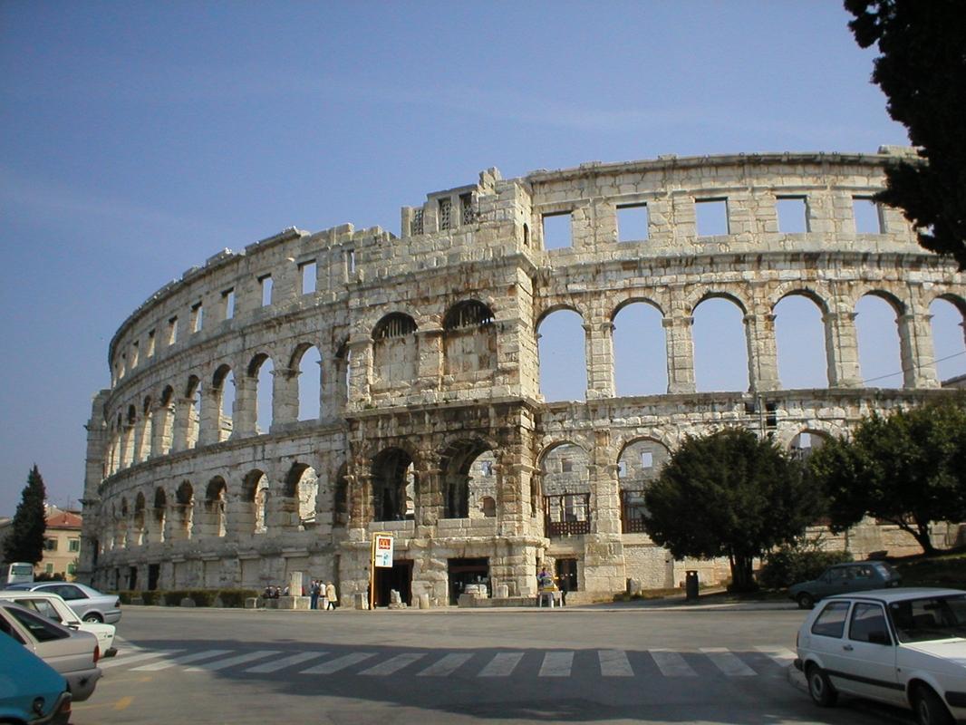 eins der bestenthaltenen Amphitheater der Welt