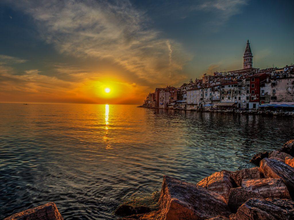 Rovinj Sonnenuntergang