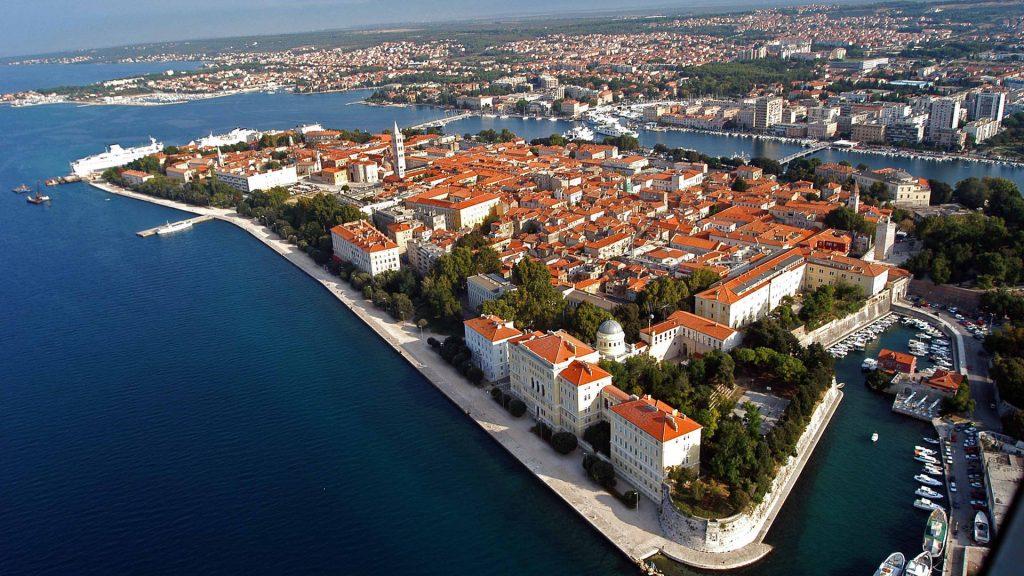 Zadar - die römische Stadt