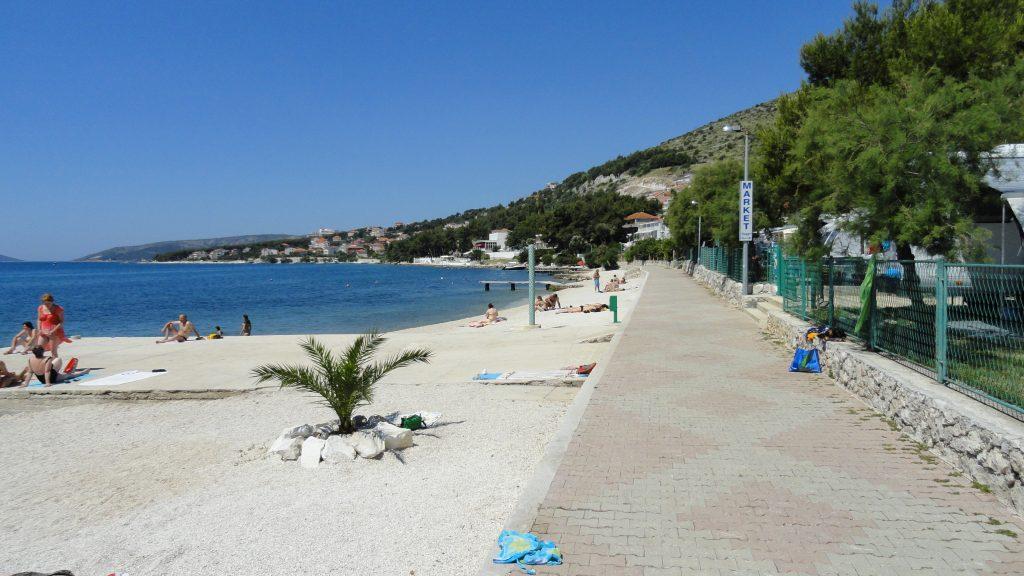 Strand in Seget Donji