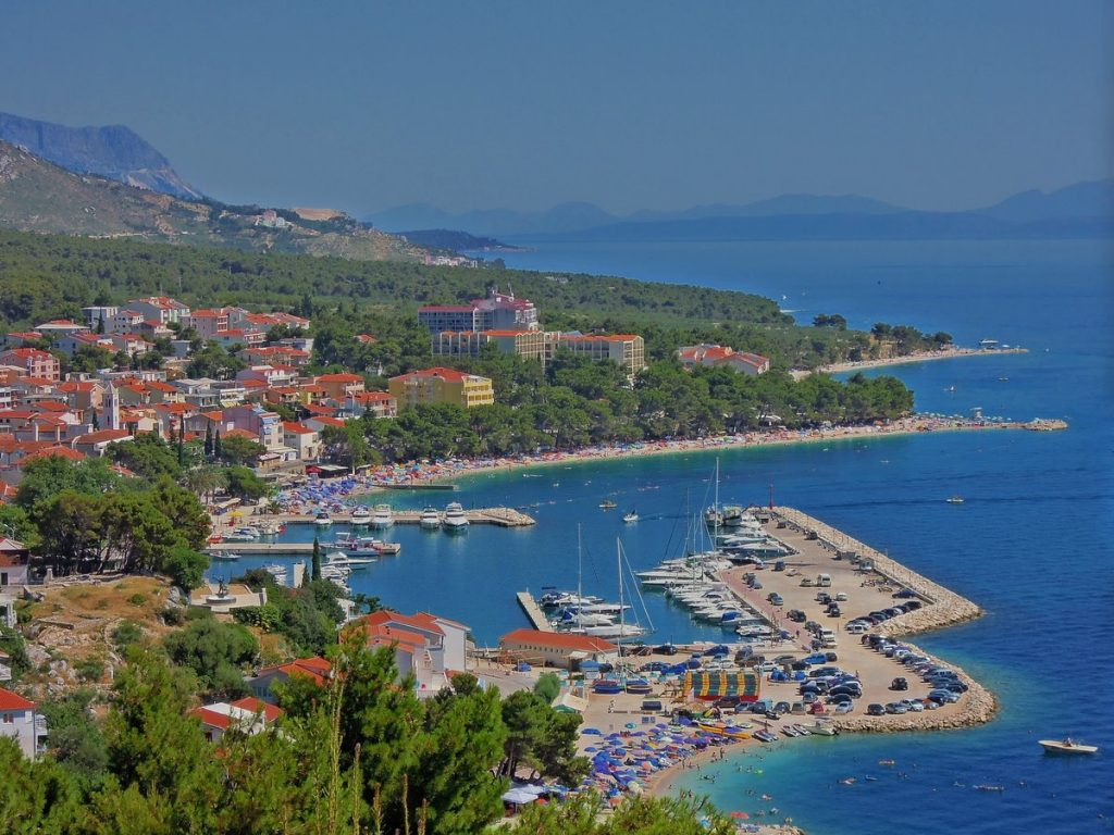 Baška Voda, Kroatien