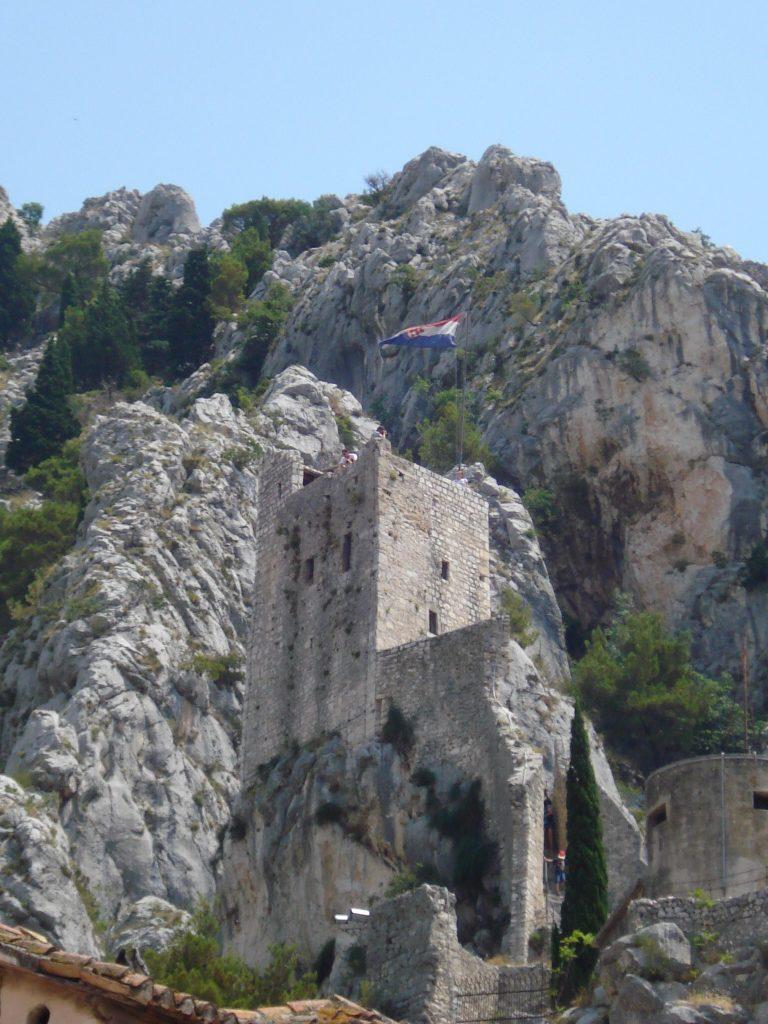 Festung Mirabella in Omiš