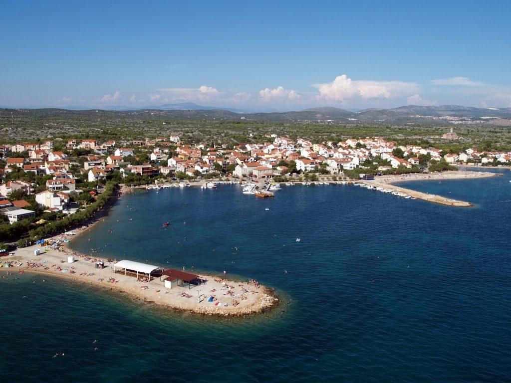 Srima bei Vodice, Kroatien