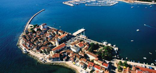 Stadt Umag in Kroatien