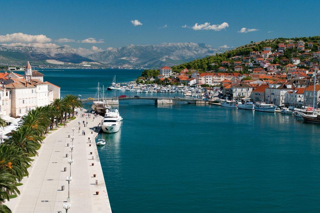 Brücke zwischen Ciovo und Trogir