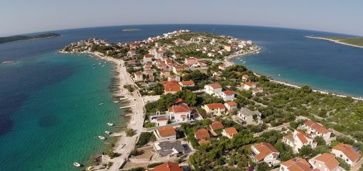 Ort Sevid bei Trogir