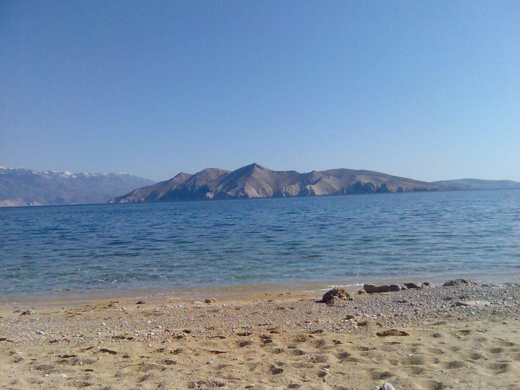 Sandstrad Vela Baska Krk