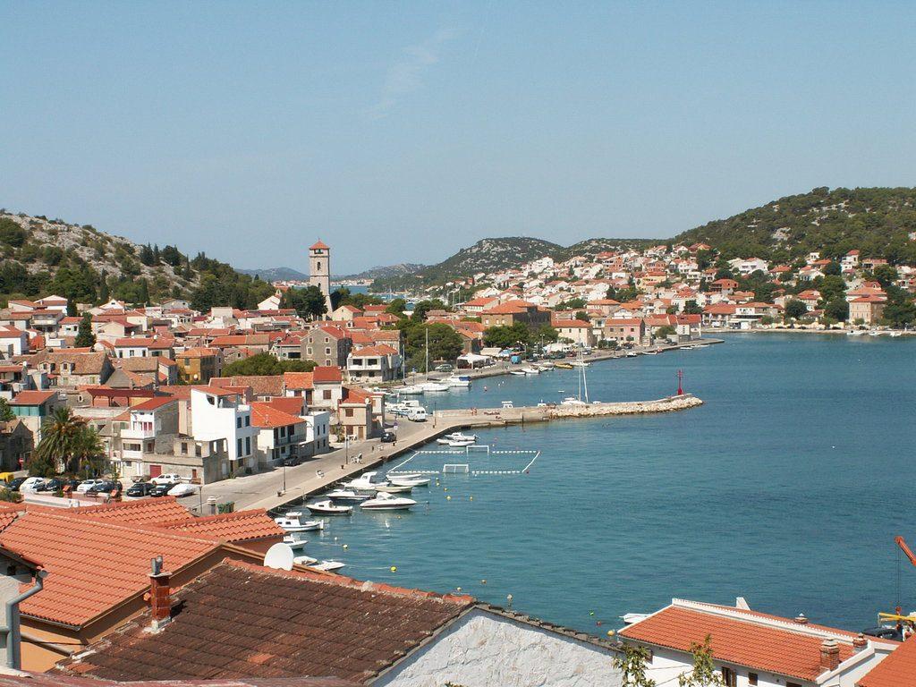 Urlaubsort Tisno, Kroatien
