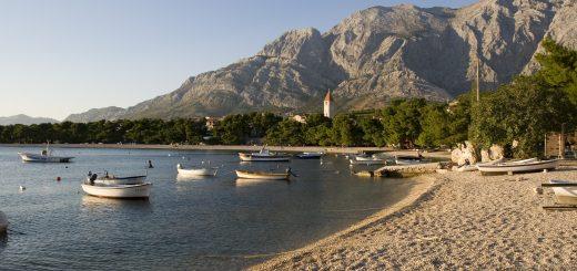 Ort Promajna bei Makarska