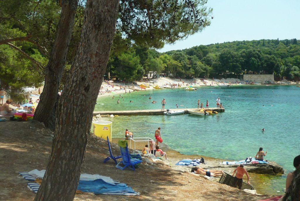 sandstrand kroatien banjole unterkunft und urlaub in kroatien