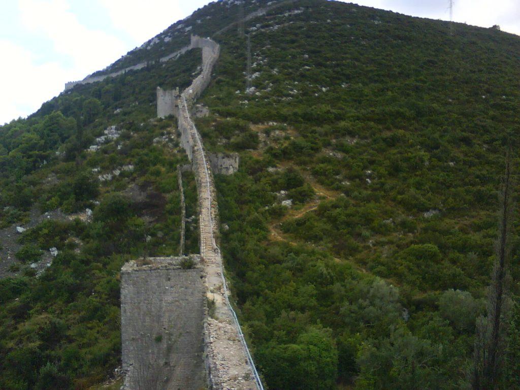 Unterkunft in Ston, zweitlängste Mauer der Welt