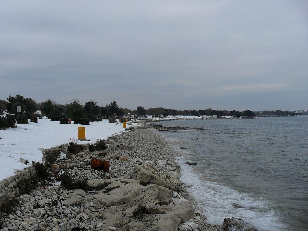 Urlaub in Istrien Ulika Strand Červar Porat